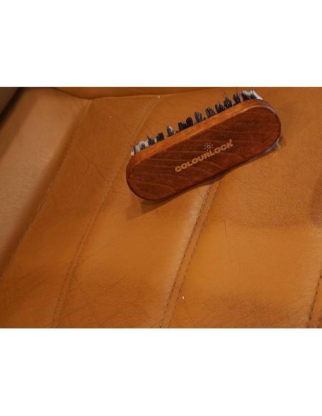 Colourlock šepetėlis odos ir tekstilės valymui