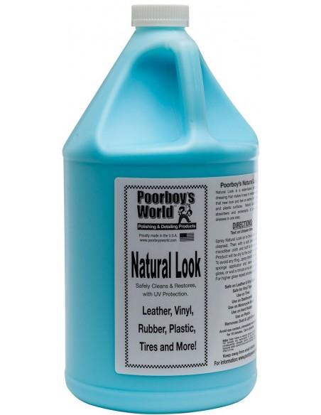 Poorboy's World Natural Look plastmasės, odos ir gumos atnaujintojas