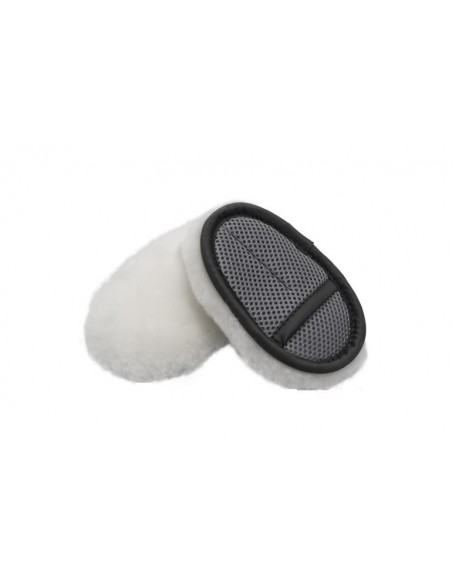 Flexipads Finger Merino SWIRL-FREE Soft Wool Wash Mitt