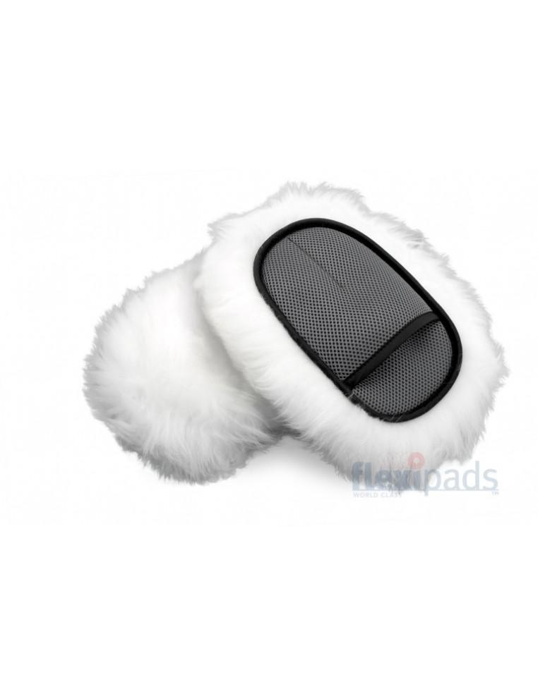 Flexipads Merino SWIRL-FREE Soft Wool Wash Mitt