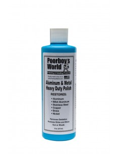 Poorboy's HD Aluminum & Metal Polish metalų poliravimo pasta