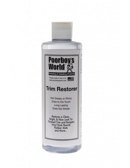 Poorboy's World Trim Restorer – plastikinių dalių atnaujintojas ir apsauga