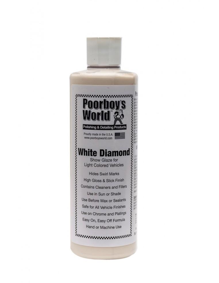 Poorboy's World White Diamond Show Glaze polirolis ir kondicionierius