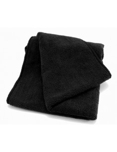 Luxus Soft BIG Black microfiber cloth 85x40