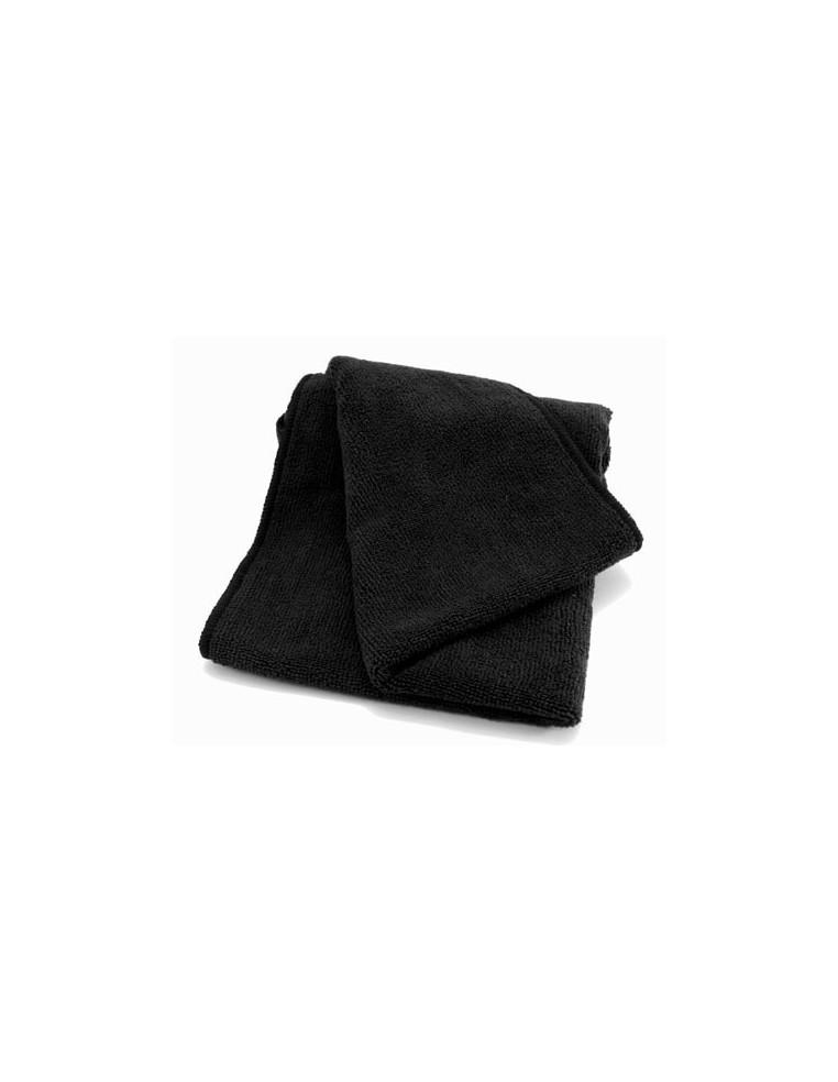 Luxus Soft Black microfiber cloth 40x40