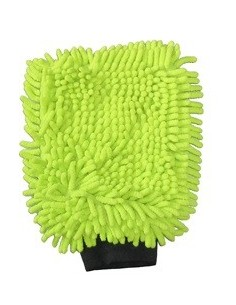 Luxus Green microfiber washing glove