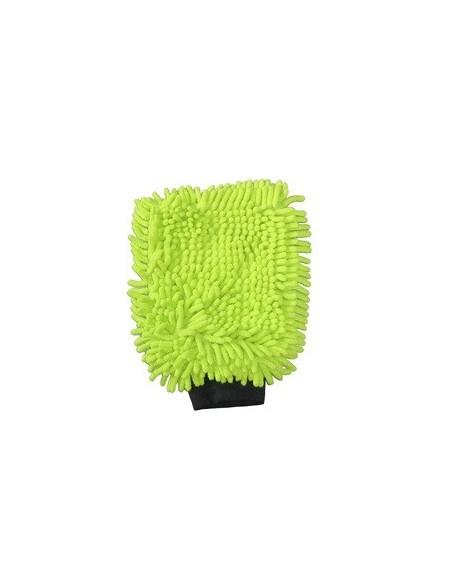 Luxus Green microfiber washing glove