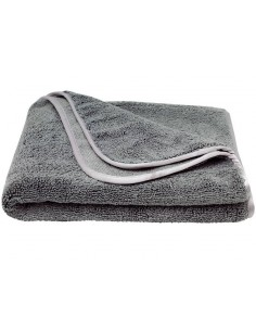 Luxus Grey microfiber drying towel 90x60