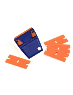 EZ-Grip plastic razor blades with holder 5 pcs.