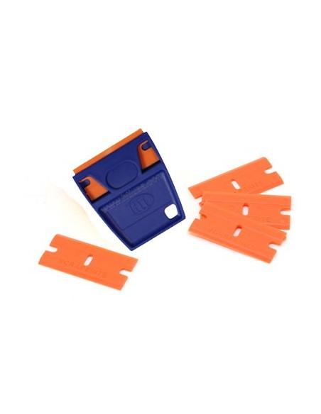 EZ-Grip plastic razor blades with holder 5 pcs