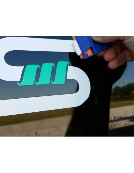 EZ Grip plastikiniai peiliukai su laikikliu 5 vnt.