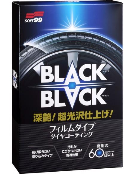 SOFT99 Black Black Hard Coat for Tire