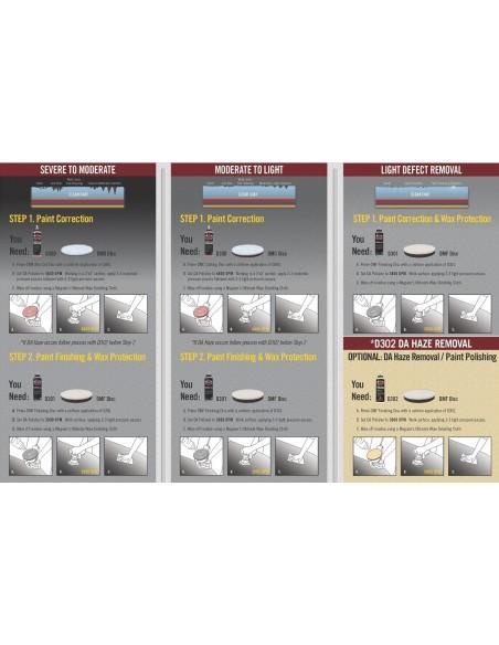Meguiars D300 DA Microfiber Correction Compound