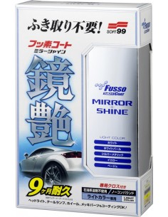 Soft99 Fusso Coat Mirror Shine Light Color danga (konservantas)