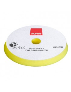 Rupes Mille Yellow Fine 140mm Foam polishing pad (yellow)