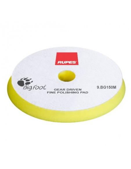 Rupes Mille Yellow Fine 140mm Foam polishing pad (yellow)