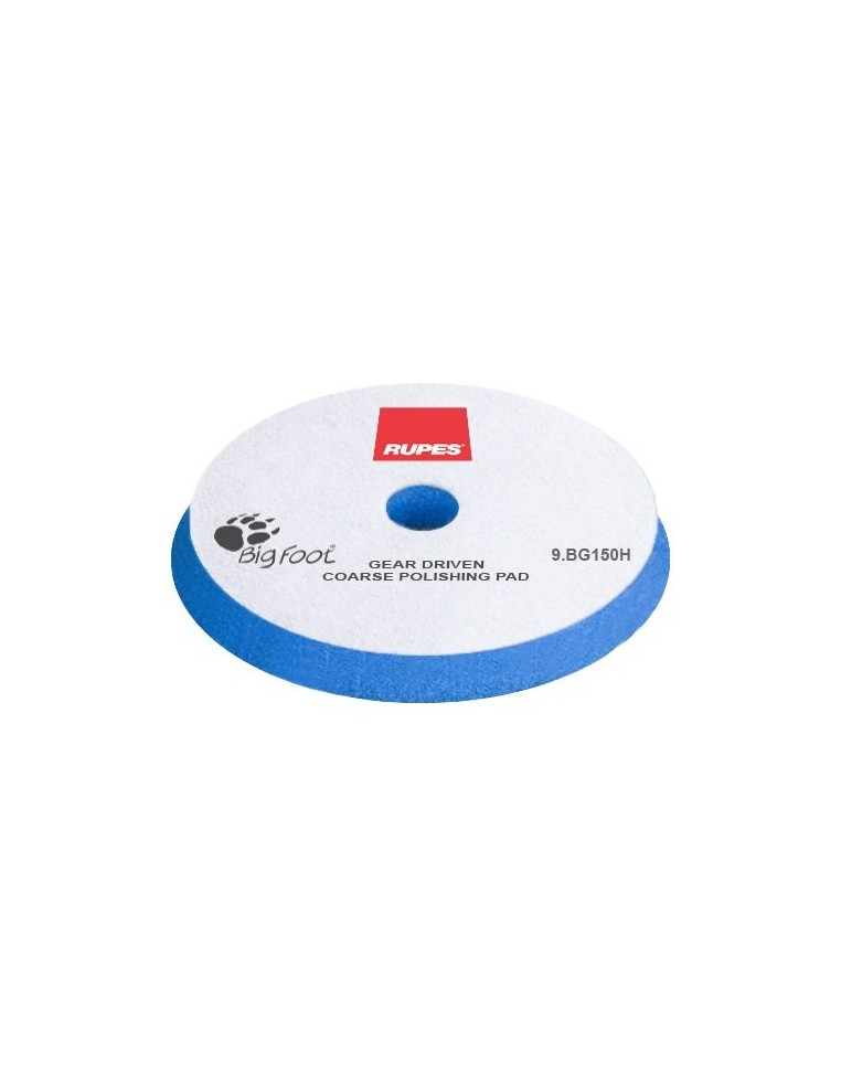 Rupes Mille Blue Coarse 140mm Foam polishing pad (blue)