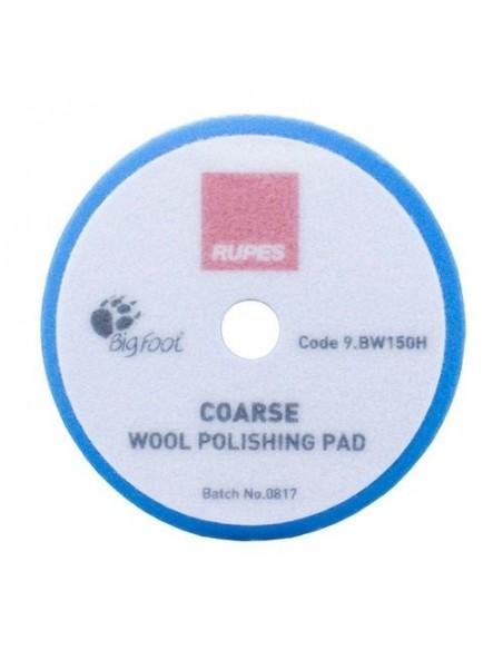 Rupes Blue Coarse Wool Polishing Pad 150mm aštrus vilnos poliravimo padas