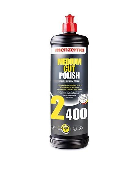 Menzerna Medium Cut Polish 2400 - vidutinio grubumo poliravimo pasta Ceramic ir Anti-Scrach lakams