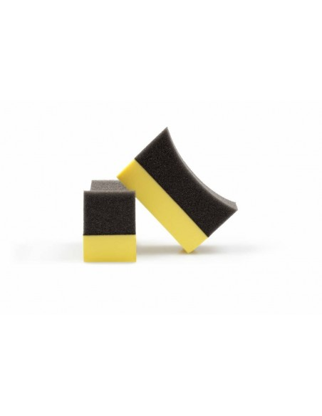 Luxus Black and Yellow Tyre Dressing Applicator