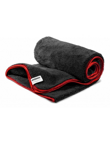 Perfect Fluffy Dryer Black microfiber drying towel 100x60