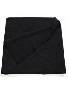 Luxus Soft Black BIG microfiber cloth 40x85
