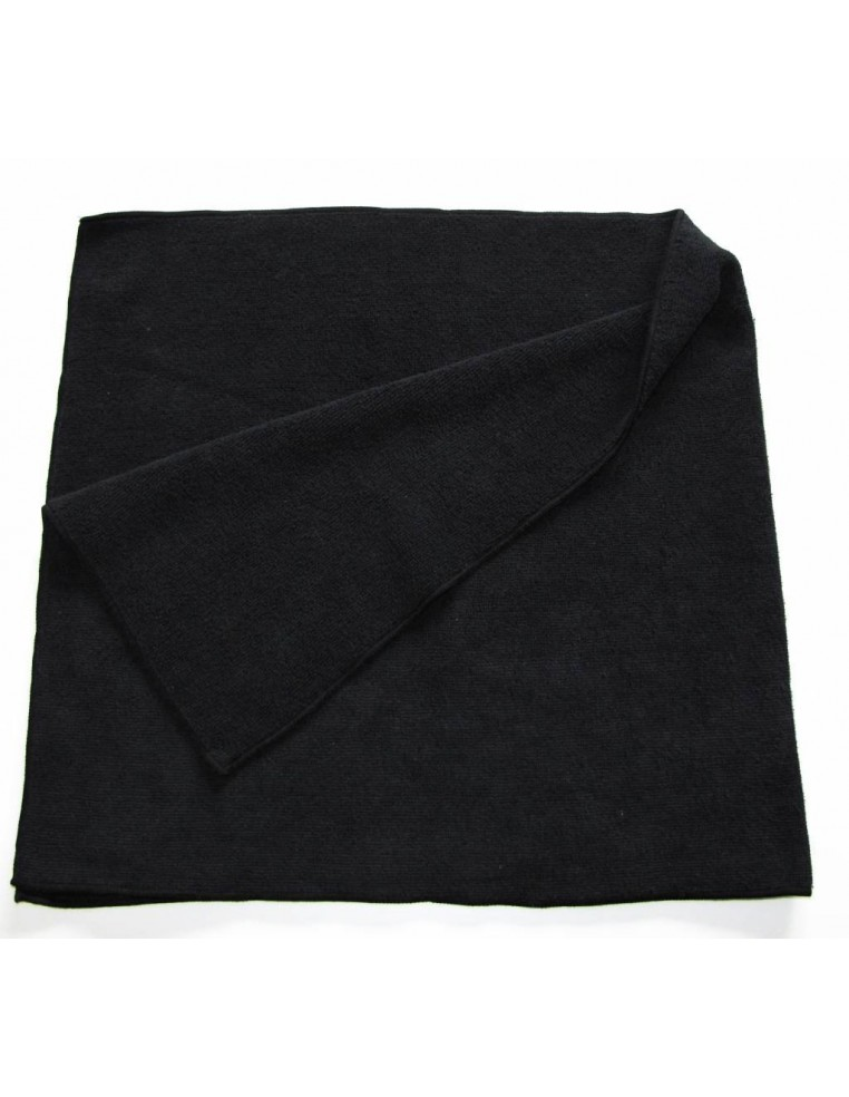 Luxus Soft Black BIG microfiber cloth 40x85
