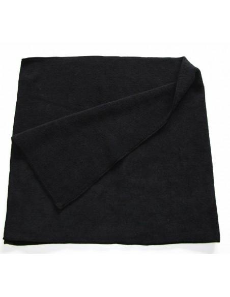 Luxus Soft BIG Black microfiber cloth 85x40