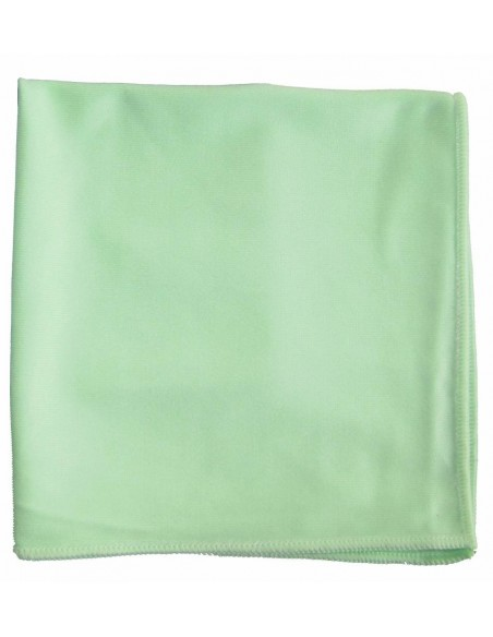 Luxus TopGlass Green Mikropluošto šluostė stiklams 40x40
