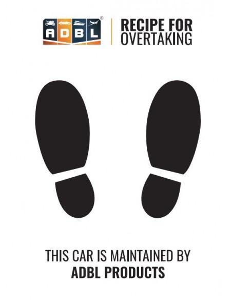 ADBL Car-pets (paper mats) 100 pcs.