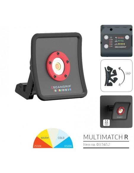 Scangrip Multimatch R - Patogus ir galingas detailing šviestuvas