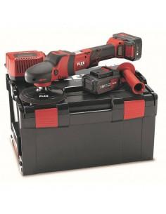 FLEX PE 150 18,0-EC/5,0Ah Set Cordless rotary polisher 18.0 V
