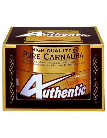 SOFT99 Authentic Premium Wax – aukščiausios klasės, natūralus Karnaubos vaškas