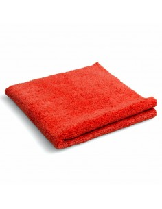 Luxus Laser Red microfiber cloth 40x40