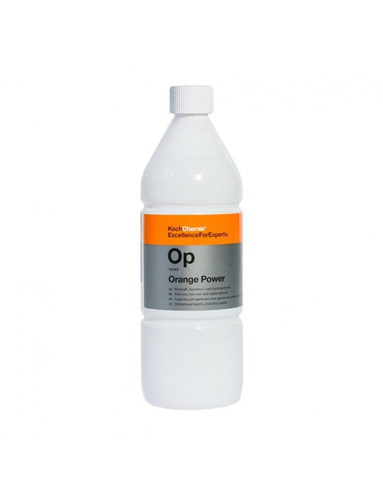 Koch-Chemie Op Orange Power adhesive, tree resin and rubber remover