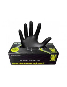 Black Mamba nitrile detailing/working gloves 100 pcs. (S - XXL)