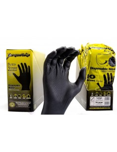 Black mamba Torque Grip nitrile gloves 10 pcs. (L - XL)