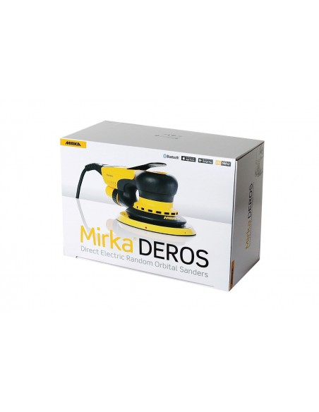Mirka DEROS 650CV 150mm Orbit 5.0 - elektrinis orbitinis šlifuoklis