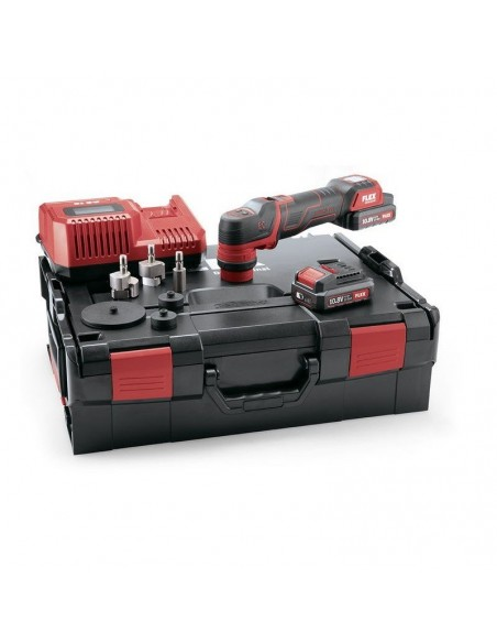 Flex PXE 80 10.8-EC / 2.5 Mini battery powered polisher set