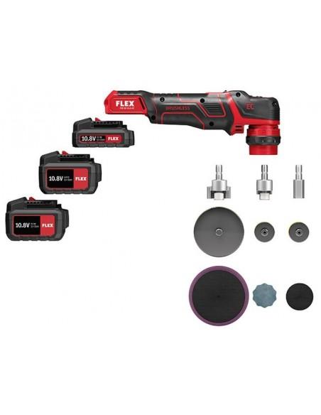 Flex PXE 80 10.8-EC / 2.5 Mini battery powered polisher set
