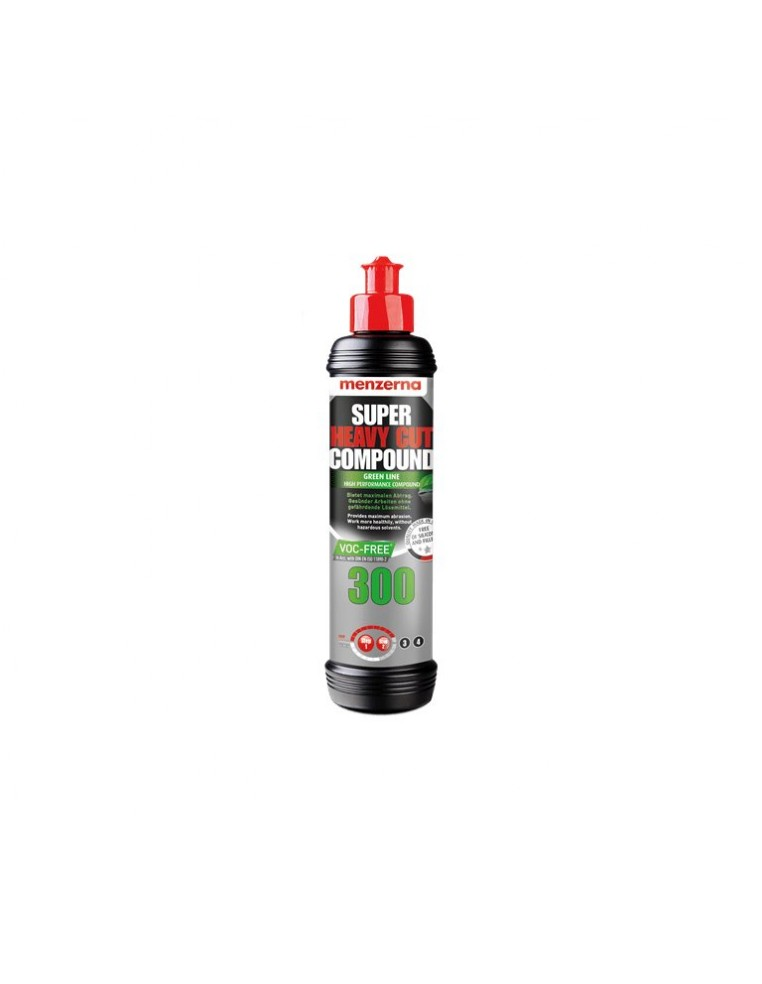 Menzerna Heavy Cut Compound 300 Green Line High Performance Compound for maximum abrasion