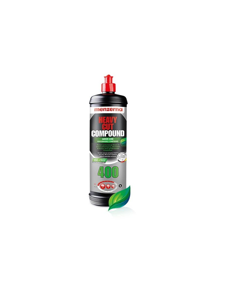 Menzerna Heavy Cut Compound 400 Green Line