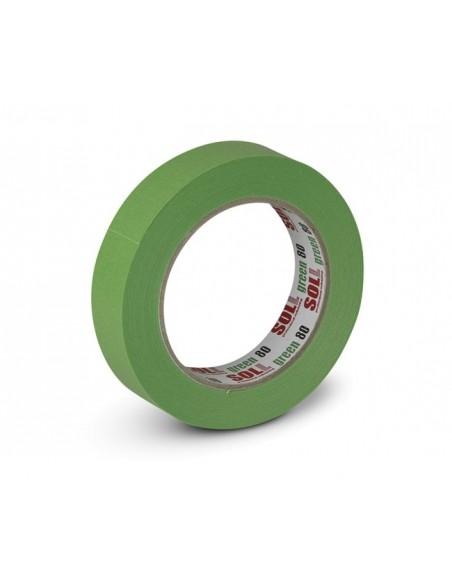 Green 80 Masking tape 24mm x 50m