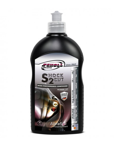 Scholl Concepts Shock 2 Cut Extreme Cutting Compound