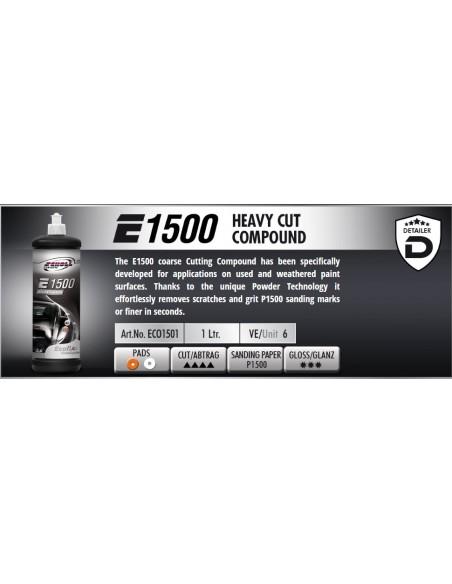 Scholl Concepts EcoFix E1500 Extra Heavy Cutting Compound 1L