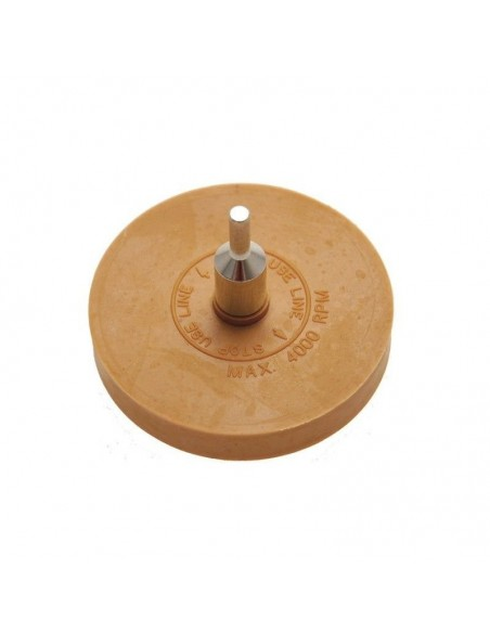 Luxus guminis diskas klijų, lipdukų, lipnios juostos šalinimui (trintukas)
