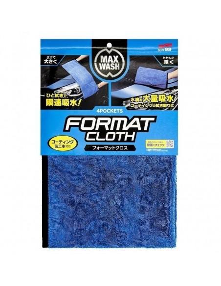 SOFT99 Max Wash 4 Pockets sausinimo šluostė