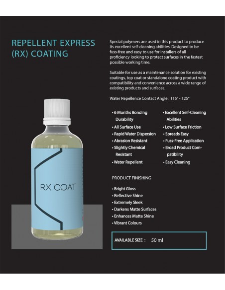 Artdeshine Repellent Express (RX) Coating
