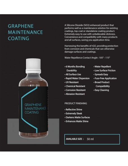 Artdeshine Graphene Maintenance Coating danga