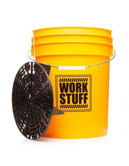 WORK STUFF Detailing Bucket Yellow WASH + Separator